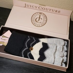 Juicy Couture NWT gloves transformable mittens